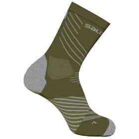 Salomon Xa Pro Socks, olive night/burnt olive/lunar rock